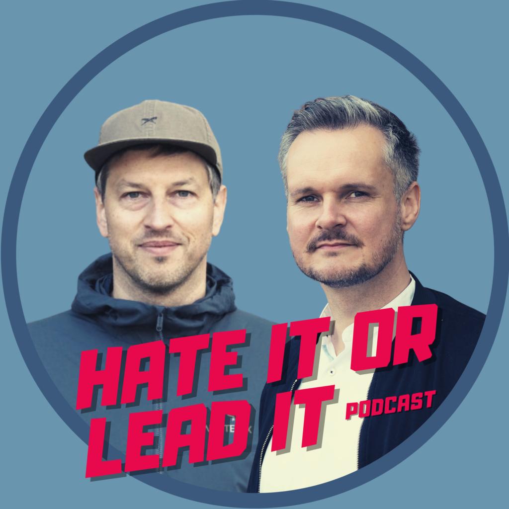"""Logo """"hate it or lead it"""""""